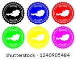 austria   rubber stamp   vector ... | Shutterstock .eps vector #1240905484