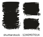 calligraphy paint brush... | Shutterstock .eps vector #1240907014