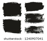 calligraphy paint brush... | Shutterstock .eps vector #1240907041