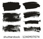 calligraphy paint brush... | Shutterstock .eps vector #1240907074
