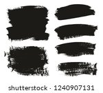 calligraphy paint brush... | Shutterstock .eps vector #1240907131