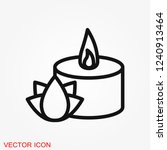 aromatherapy icon  accessory... | Shutterstock .eps vector #1240913464
