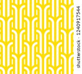 vector yellow geometric pattern.... | Shutterstock .eps vector #1240917544