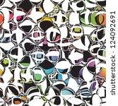 Seamless Pattern With Grunge...