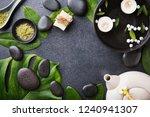 spa wellness relax concept. spa ...   Shutterstock . vector #1240941307