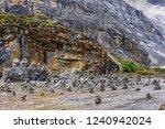 mani stones in the river under... | Shutterstock . vector #1240942024