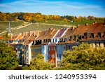 wurzburg  view of the city and... | Shutterstock . vector #1240953394