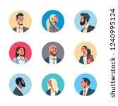 set different business people...   Shutterstock .eps vector #1240995124