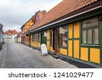 street scene from the swedish... | Shutterstock . vector #1241029477