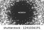 vector merry christmas magic... | Shutterstock .eps vector #1241036191