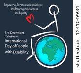 3rd december international day...   Shutterstock .eps vector #1241049934