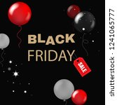 black friday banner   | Shutterstock . vector #1241065777