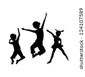 black,boy,children,girl,happy,holidays,isolated,jumping,kids,pose,silhouettes,stretch,teenagers,vacations,white
