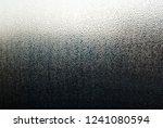 water drops on window glass ... | Shutterstock . vector #1241080594