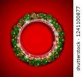holiday illustration for... | Shutterstock . vector #1241100877