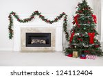 Natural Gas Fireplace With...
