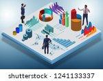 businessman in business... | Shutterstock . vector #1241133337
