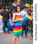 delhi  india  nov 25  2018...   Shutterstock . vector #1241145931