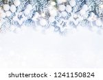 holiday background with... | Shutterstock . vector #1241150824