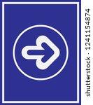 arrow icon in trendy flat style ... | Shutterstock .eps vector #1241154874