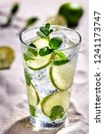 caipirinha  mojito cocktail ... | Shutterstock . vector #1241173747