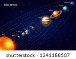 planets of the solar system....   Shutterstock .eps vector #1241188507