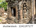 banteay kdei temple is khmer... | Shutterstock . vector #1241197177