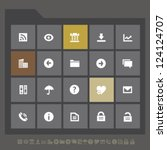 modern office icons set 1  for...