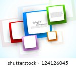 abstract colorful background | Shutterstock .eps vector #124126045