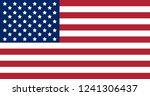 flag of united states of... | Shutterstock . vector #1241306437