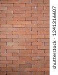 brown brick wall texture  | Shutterstock . vector #1241316607