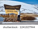 independence pass in rocky... | Shutterstock . vector #1241327944