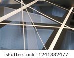 collage photo of backlit office ... | Shutterstock . vector #1241332477