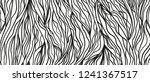 wavy intricate background. hand ... | Shutterstock .eps vector #1241367517