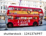 london  uk   may 08 2018   old... | Shutterstock . vector #1241376997