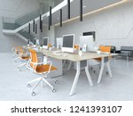interior modern open space... | Shutterstock . vector #1241393107