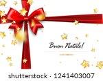 buon natale   merry christmas... | Shutterstock .eps vector #1241403007
