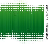 Vector Dot Green Background