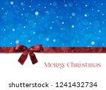 christmas background decoration ... | Shutterstock .eps vector #1241432734