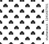 home printer pattern seamless... | Shutterstock .eps vector #1241437531