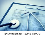 medical concept | Shutterstock . vector #124145977