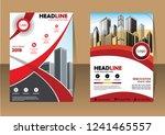 business abstract vector... | Shutterstock .eps vector #1241465557