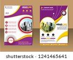 business abstract vector... | Shutterstock .eps vector #1241465641