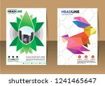 business abstract vector... | Shutterstock .eps vector #1241465647