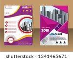 business abstract vector... | Shutterstock .eps vector #1241465671
