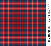 christmas and new year tartan... | Shutterstock .eps vector #1241467447