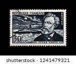 france   circa 1955  canceled... | Shutterstock . vector #1241479321