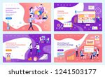 collaboration business... | Shutterstock .eps vector #1241503177