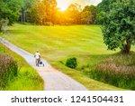 Golfer Holding Golf Cart Carry - Fine Art prints