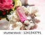 beach wedding ceremony close up ...   Shutterstock . vector #1241543791